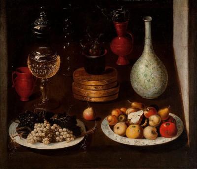 vin och frukt